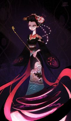 Geisha by jellypuffer