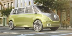 This new #Microbus concept is like so totally FAR OUT! Like a range of 270 miles far out!