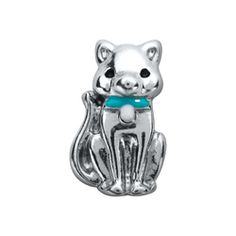 Silver and Pink Cat - Floating Charm that fits into a Floating Locket.Cat - Silver/Pink - Silver Cat with Pink Bow Floating Charm - fits into any Floating Locket with other Charms and / or a Background Plate of your choice, depending on size and quantity. Origami Owl Fall, Origami Owl Charms, Origami Owl Lockets, Origami Owl Jewelry, Like A Cat, Silver Cat, Floating Charms, Personalized Charms, Locket Charms