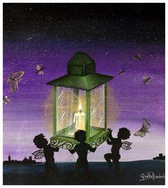 Atelier Gina Pafiadache: Livros de colorir: Céu noturno - Silhueta - Lua