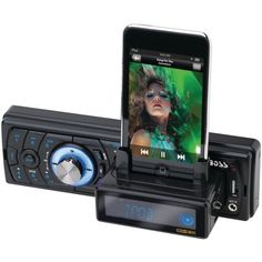 Boss Audio 754DI MP3-Compatible In-Dash Digital Media Receiver by BOSS. $60.57. MP3-Compatible In-Dash Digital Media Receiver with Built-In iPod Docking Station With USB And SD Memory Card Ports And Front Panel Aux Input