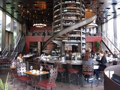 Purple Cafe & Wine Bar in Seattle, WA... Best small plates and wine flutes in town.    --don't know how we missed this MOM!
