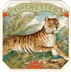 nickyskye meanderings: vintage cigar label art