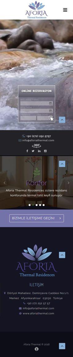 Aforia Thermal Web Sitesi