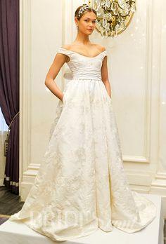 5683f57bf2049 Brides  Marchesa Wedding Dresses Spring 2016 Bridal Runway Shows Brides.com