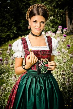 bavarian dirndl dress