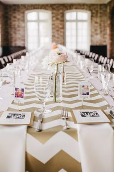 Pretty & fun details at this Brunch Wedding http://fabyoubliss.com