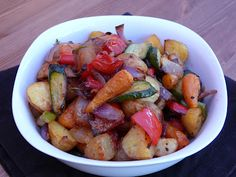 Mrs Ellwood's Simple Life: Rosemary-Roasted Veg