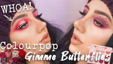 COLOURPOP GIMME BUTTERFLIES PALETTE! | 2 Looks + Review