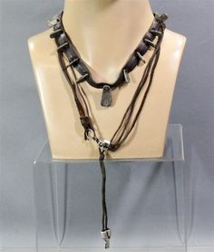 BLACK SAILS CAPTAIN CHARLES VANE ZACH MCGOWAN SCREEN WORN STUNT DBL NECKLACE SET