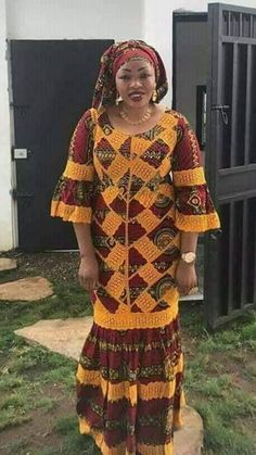 Best African Dresses, Latest African Fashion Dresses, African Attire, Women's Fashion Dresses, African Print Dress Designs, Traditional African Clothing, Long Skirts For Women, Ankara Long Gown Styles, Kitchen Contemporary