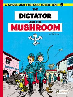 COMIC BITS ONLINE: Spirou and Fantasio 9: The Dictator and the Mushro...