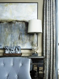 Transitional   Dining Rooms   James Rixner : Designer Portfolio : HGTV - Home & Garden Television  love the palette, the large are the colors
