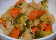 Lacto-fermented Asian Veggie Medley