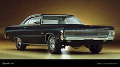 1970's plymouth cars | 1970 Plymouth Fury Hardtop Coupe