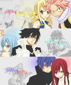 Best fairy tail couples