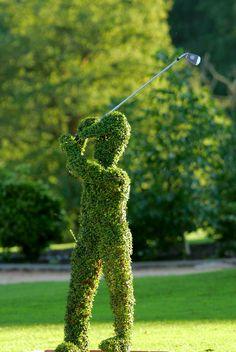 Un joueur / A golf player
