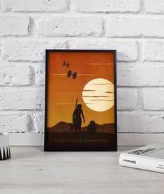 Star Wars Poster wall art decor print gift The Force Awakens office home Star Wars Decor, Star Wars Art, Office Wall Decor, Wall Art Decor, Poster Wall, Poster Prints, Star Wars Prints, Star Wars Poster, Map Art