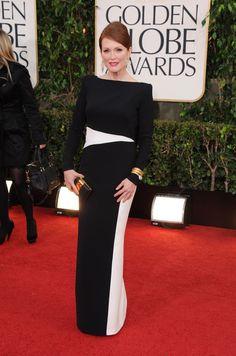 Julianne Moore, Tom Ford -- Golden Globe Awards