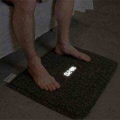 Carpet Alarm Clock  http://dudebrogifts.com/carpet-alarm-clock/