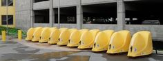 Places where BikeLid bicycle storage pods live and breath. Bike Storage Pod, Storage Pods, Bicycle Friendly Cities, Outdoor Bike Racks, Parking Solutions, Bike Components, Bike Parking, Commuter Bike, Street Furniture
