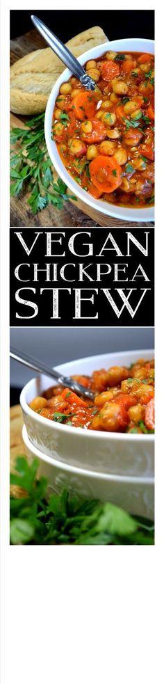 Vegan Chickpea Stew More