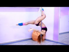 How to Do Leg Hang Switch - Pole Dance Tutorial For Beginners [Top.me]