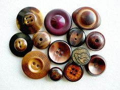Wonderful Harder To Find Lot of Various Vintage by BecaliJewels (Craft Supplies & Tools, Sewing & Needlecraft Supplies, Buttons & Fasteners, Buttons, vintage, supplies, button, vegetable ivory, nut, impressed, fancy designed, carved, stencile styled, whistle, marbled, jewelry component, trim)