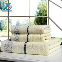 3 pçs/set cubo d' água 100% algodão espessamento adulto towel set rosto towel + banho towel beach/banheira/spa/toalhas de natação transporte rápido(China (Mainland))