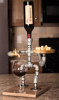 Wine and Cheese Server -- Sir ... Madam? #DroneAccessories