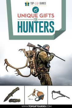 15 Unique Gifts for Hunters Unique Gifts For Men, Gifts For Teens, Grandpa Gifts, Gifts For Husband, Beard Oil And Balm, Outdoor Survival Gear, Outdoor Gifts, Hunting Gifts, Gifts For Hunters