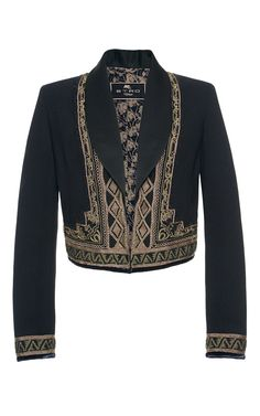 Reversible Cropped Military Jacket by ETRO for Preorder on Moda Operandi