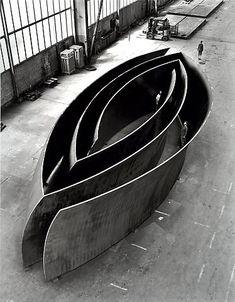 Richard Serra Gagosian Open Ended