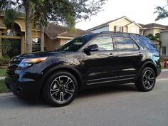 Ford Explorer Sport - Black 2014. I literally just NEED this in my life