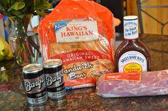 Sweet & Savory - 3 Minute - 3 Ingredient Crock-Pot BBQ Pulled Pork! #Recipe