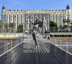 If It's Hip, It's Here (Archives): Cannes Film Festival; Classic Cannes Photos - Then And Now Life Pictures, Old Pictures, Old Photos, Film Festival Poster, Cannes Film Festival 2015, Then And Now Photos, French Movies, New Image, Image Photography