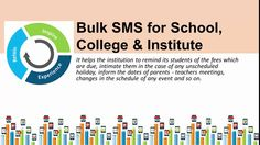Bulk SMS and Benefits to Service Industries