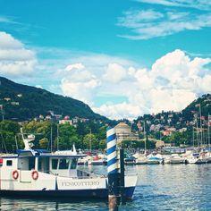 Beautiful Lake Como on a summer day. Photo by Jen Genzale. #Como #LakeComo #Italy