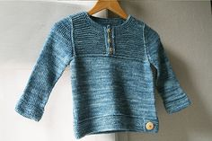 Pull enfant Thisle 6m-10a - tricot - Tutoriels de tricot chez Makerist