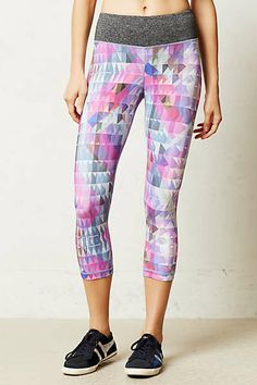 Anthropologie - Pure + Good Geodiamond Crop Leggings