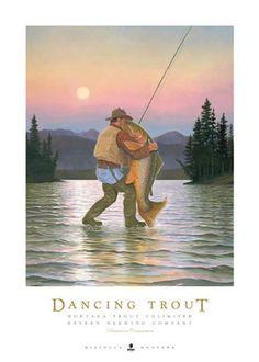 Dancing Trout
