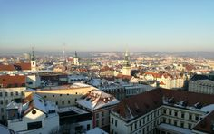 View from the cathedral, Brno, Czech Republic