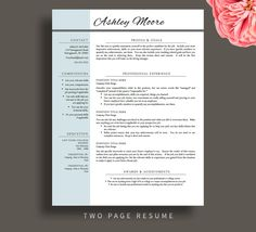 Resume Template Word Free resume template cv template free cover letter for ms word instant digital download Teacher Resume Template For Word Pages Resume Cover Letter Free Resume Tips