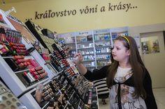 Vo Fann Parfumerie si Peťka vyskúšala, poradenstvo, líčenie aj parfémy :)