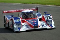 MG-Lola EX265C LMS 2008 Mike Newton / Thomas Erdos #motorsport #racing #lms #car #motor #passion #sport #prototype #gt #24h
