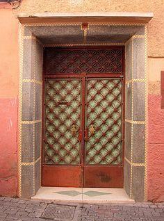 Doors ~ Marrakech Morocco
