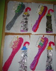 Dental Health Month craft idea for kids   Crafts and Worksheets for Preschool,Toddler and Kindergarten
