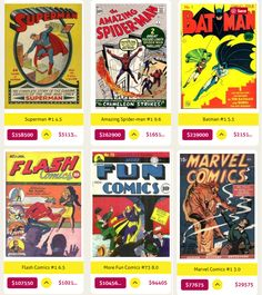 Record Auction Comic book Sales