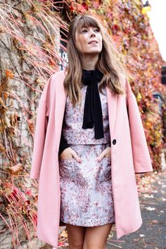 Mary Jane Holiday Fall Street Style Trend. Thank Marc Fisher for this retro-inspired look with their collection of covetable patent leather and velvets.