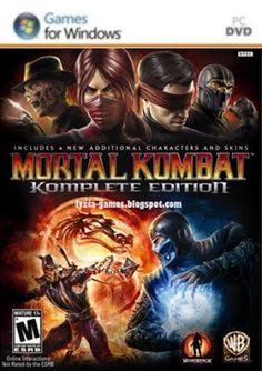 Mortal Kombat: Komplete Game of The Year Edition for Xbox 360 gaming Console New Mortal Kombat 9, Mortal Kombat Komplete Edition, Wii, Microsoft, Videogames, Game Codes, Videos, Xbox 360 Games, Pc Games